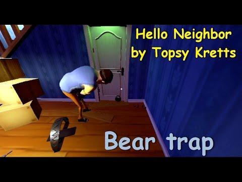 Hello Neighbor Alpha 1 two neighbors + bear trap thumbnail