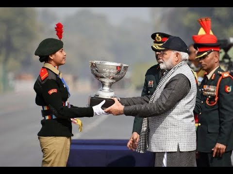 PM Modi addresses NCC Rally in New Delhi