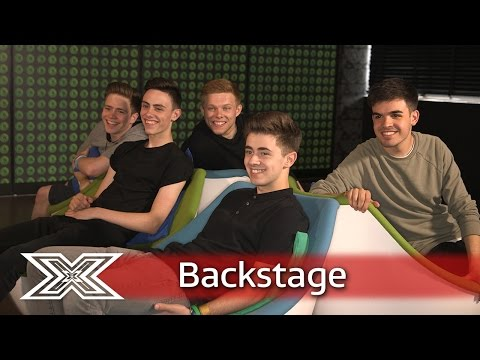 Roman Kemp plays musical chairs with Yes Lad! | The X Factor UK 2016