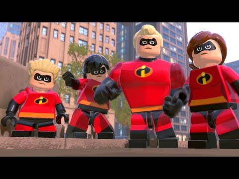 LEGO The Incredibles Finale - The Final Showdown