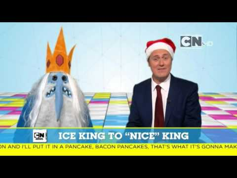 Cartoon Network UK Ice King Becomes Nice King News Report (Christmas 2015)