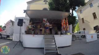 Arrivée tour de Haute Provence 1ere étape Digne les Bains St André les Alpes