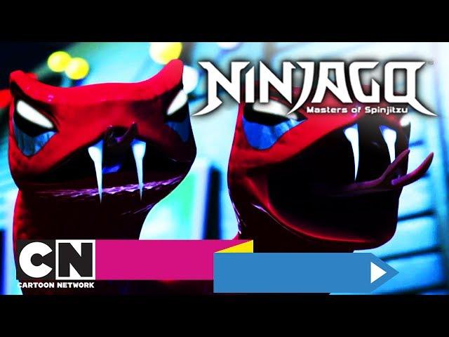 LEGO Ninjago | 3. Slangenbeet (volledige aflevering) | Cartoon Network