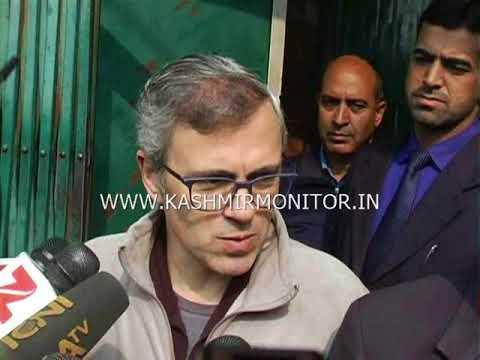 Interlocutor Dineshwar Sharma meets Omar Abdullah