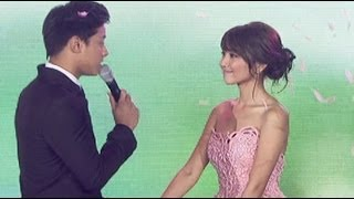 Repeat youtube video Daniel Padilla sings 'Till There Was You' on Kathryn's debut