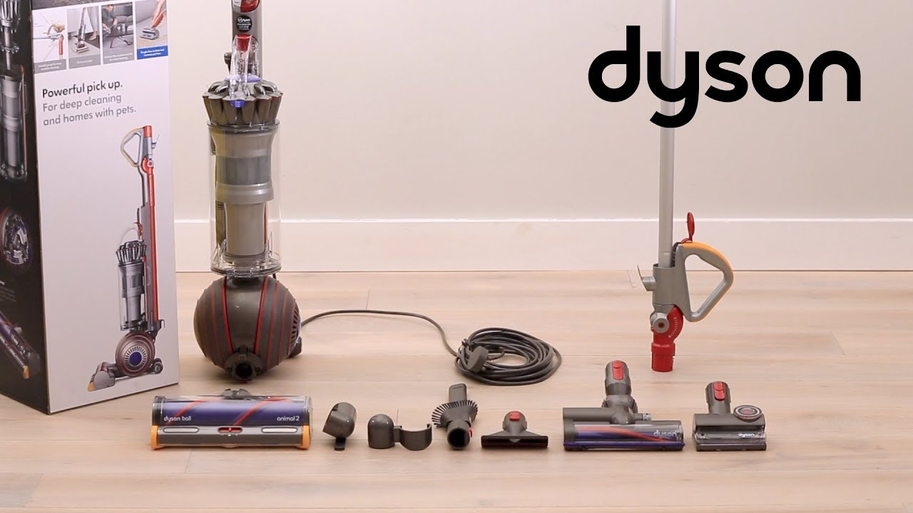 Dyson Ball Animal 2 Upright Vacuums Getting Started Uk