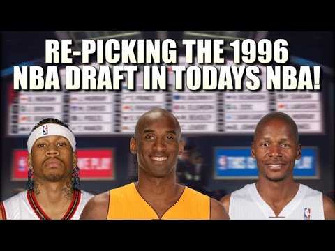 Re-picking the 1996 NBA Draft in Today