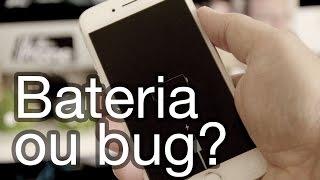 iPhone desligando antes da bateria acabar