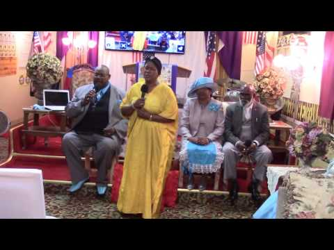 Dr. Bishop S. O. Paisley Host Minister Delores Nash and her Husband- (BOOK RELEASED).
