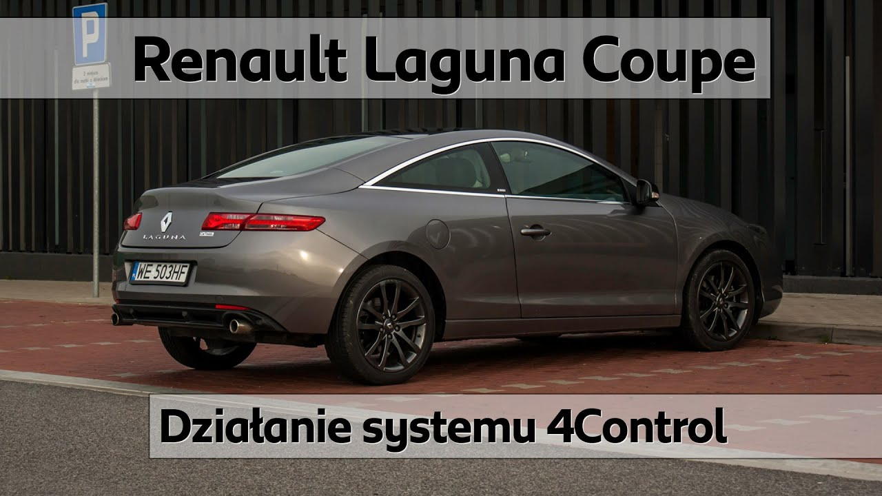 renault laguna coupe dzia anie systemu 4control youtube. Black Bedroom Furniture Sets. Home Design Ideas