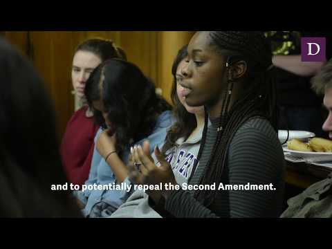Political Union debates the Second Amendment
