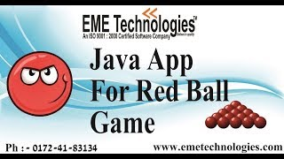 Game RED BALL App | Java
