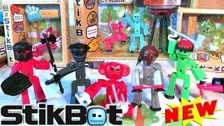 NEW STIKBOT - Stop motion анимация у вас дома! Сделай мультик Стикбот сам! #STIKBOT pets