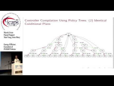 "ICAPS 2015: ""Energy Efficient Execution of POMDP Policies"""