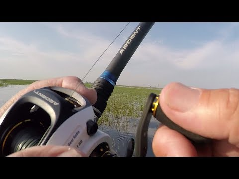 Lake Okeechobee Bass Fishing is on Fire...(see the baits and aerial shots of the area)