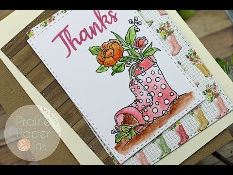 SSS ers & Flowers  March 2018 Card Kit  Daniel Smith Watercolors