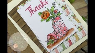 SSS Showers & Flowers | March 2018 Card Kit | Daniel Smith Watercolors