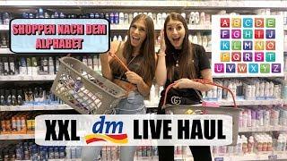 XXL DM LIVE HAUL 🛍 - Shoppen nach dem Alphabet 🔠 mit Nathalie BW