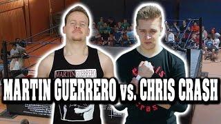Martin Guerrero vs. Chris Crash | WRESTLING MATCH | Martin im Ring
