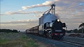 "Steamrail Victoria's ""Swan Hill Overlander"" with R711 ""Spirit of Bendigo"""