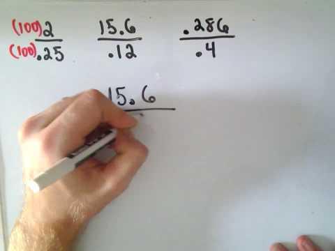 Arithmetic Basics: Dividing Decimals