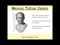 Cicero, In Catilinam 1,1-2: interaktive Übersetzung [Let's translate]