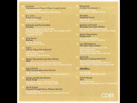 Chris Liebing Live In Belgrade (2005) Cd 1