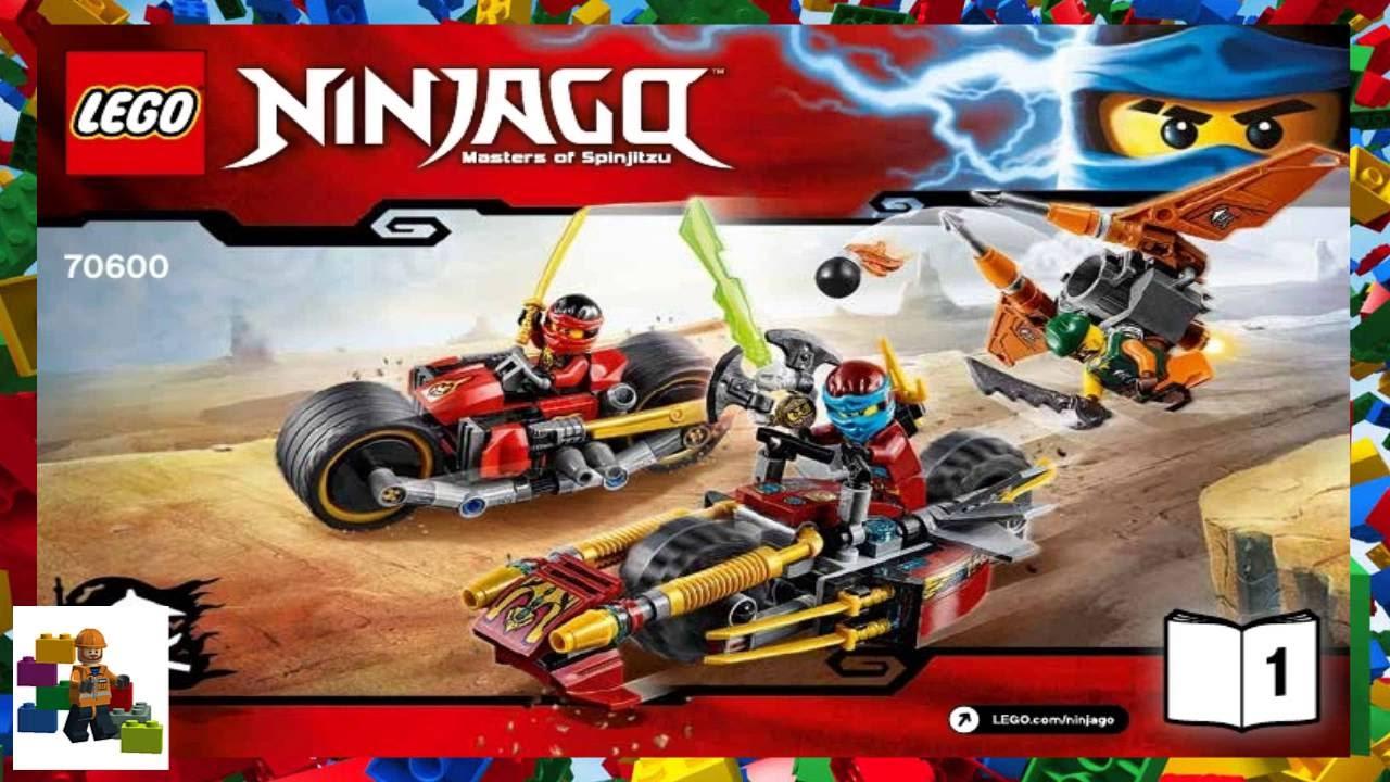 Lego 70600 Instruction maanual only for NINJAGO Masters of Spinjitzu