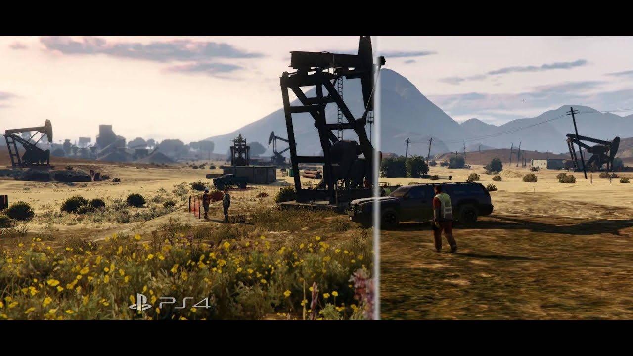 Grand Theft Auto 5 on the PS4 - It's Totally Bad Ass