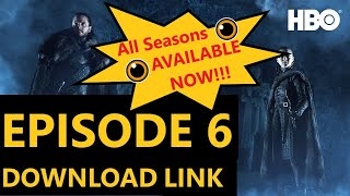 Game Of Thrones Complete Download links to All Seasons All episodes