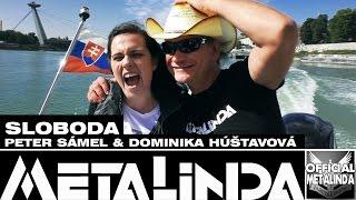 METALINDA - Sloboda (Peter Sámel & Dominika Húšťavová, husle: Sveťa Valeri)
