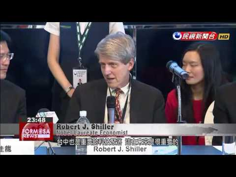 American Nobel Laureate economist Robert Shiller hails Taichung as a progressive, livable city