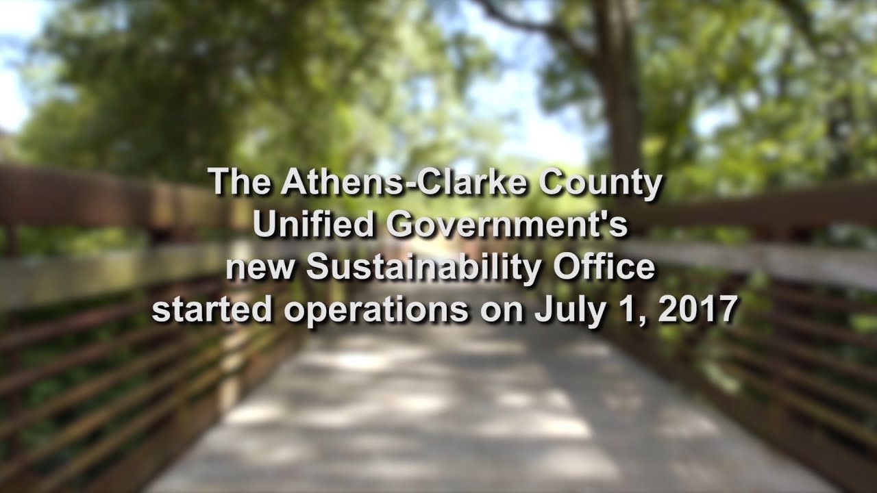 Sustainability Office | Athens-Clarke County, GA - Official Website
