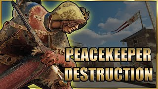 Peacekeeper HIGH Damage Destrขction - I closed my eyes for 5 seconds | #ForHonor