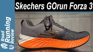 Skechers GOrun Forza 3 | ¡Mucha amortiguación, Mucho soporte!