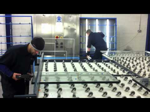 Double-glazed unit production line - Diamond Cut Glass Ltd