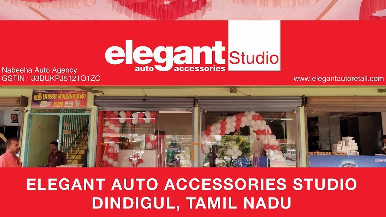 Store Launch | Elegant Auto Accessories Studio reaches Dindigul | Tamil Nadu