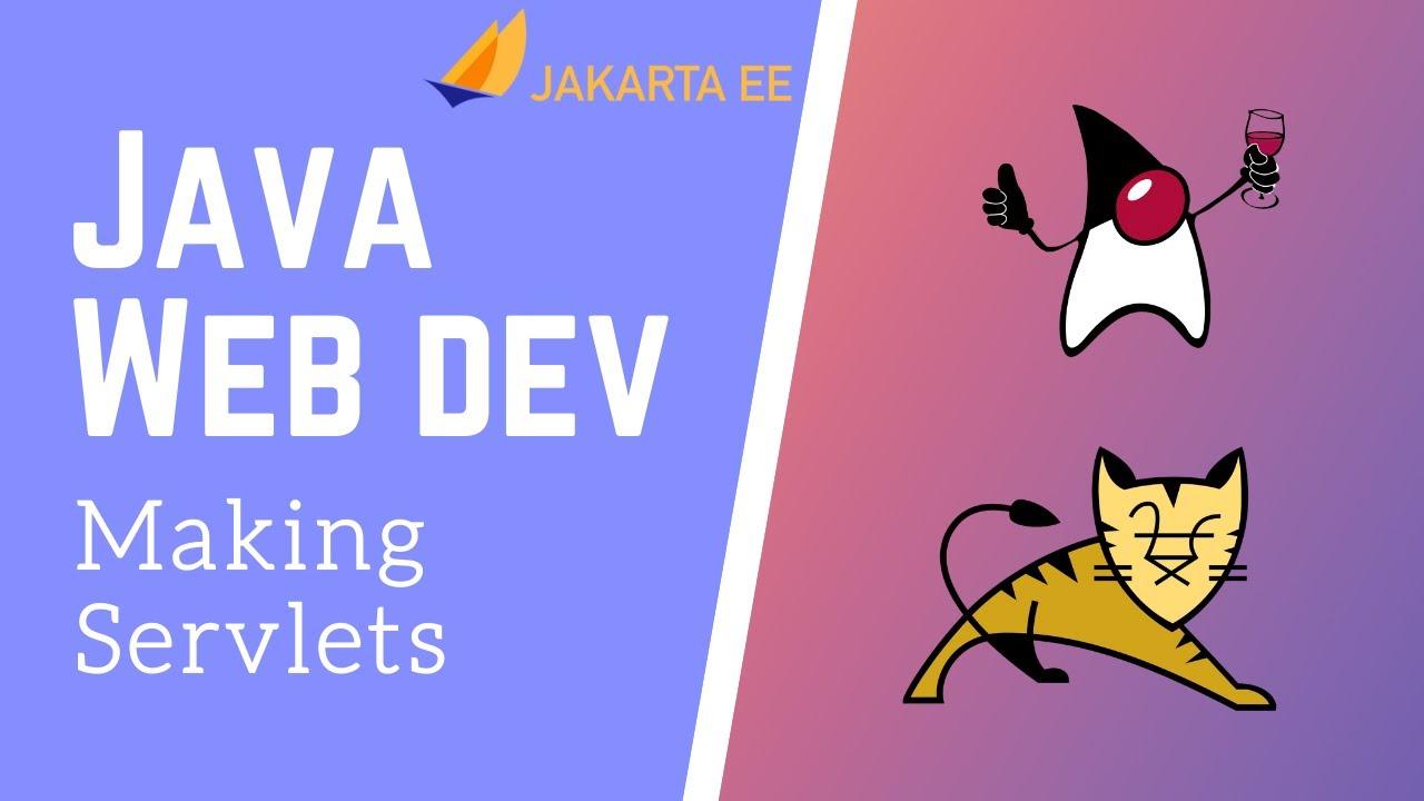 Java Servlets & JSP - Making Servlets