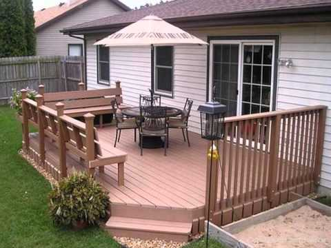 Inexpensive Ideas To Cover Deck Flooring Youtube