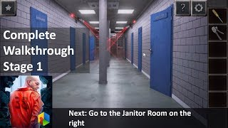 Can You Escape Prison Break Complete Walkthrough With Instructions Stage 1