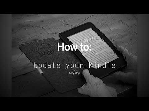 How To Update A Kindle's Firmware