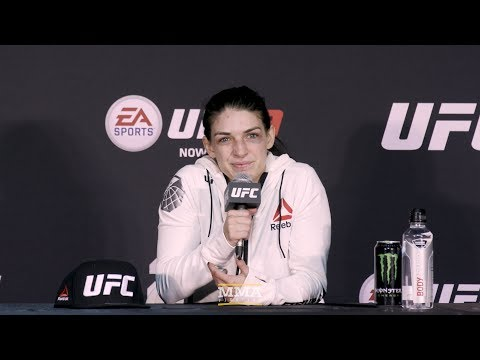 UFC 222: Mackenzie Dern Post-Fight Press Conference - MMA Fighting