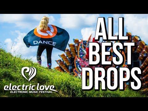 [Top 30] Best Drops Electric Love 2017 (Carnage, Headhunterz, Timmy Trumpet..) Beste EDM-Musik