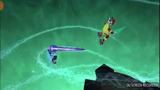 Dissidia 012 model swap replay Megaman Zero vs Megaman x Zero