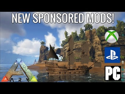 ARK CRYSTAL ISLES MAP UPDATE! NEW SPONSORED MOD! - Ark Survival