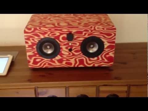 [DIY] Wooden iPod / iPhone / iPad - Airplay Speaker