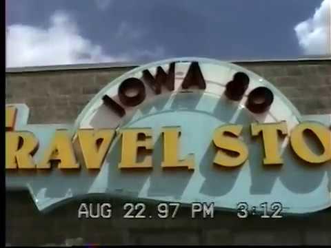 Traveling - Road trip. I-74 in Illinois, I-80 in Iowa, Lake Superior Minnesota, Fargo ND. Aug 1997.