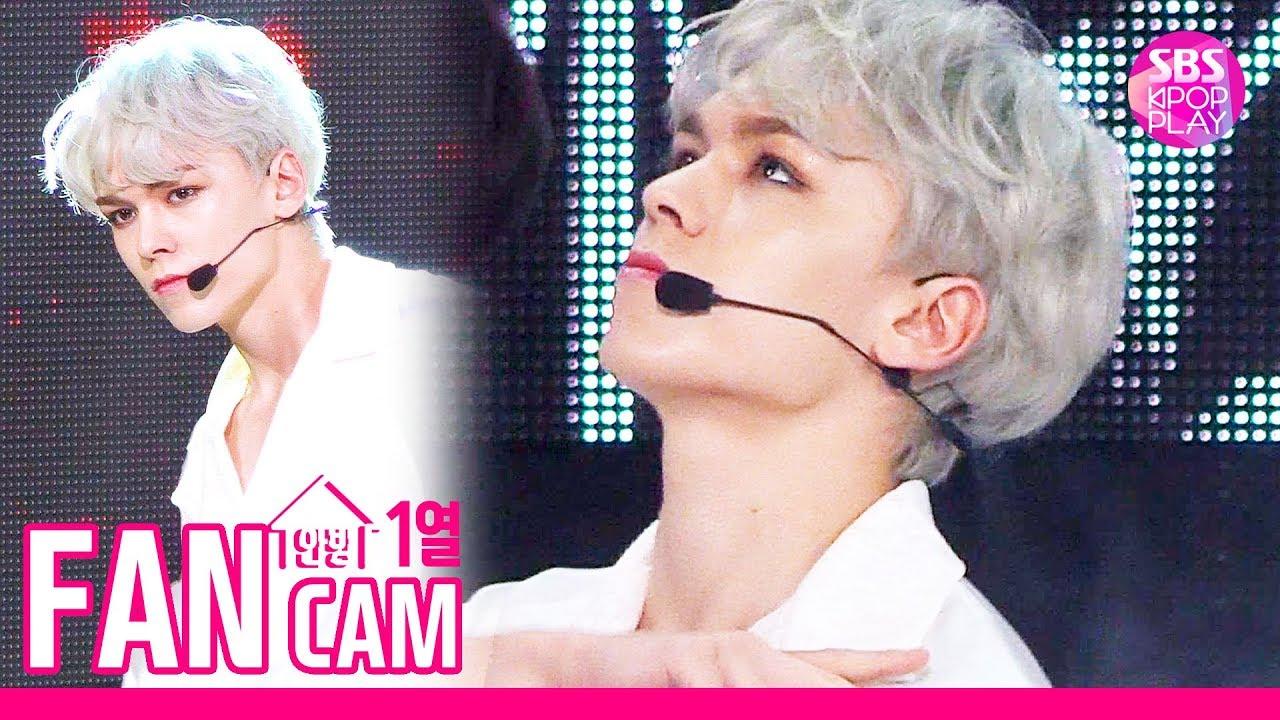 [안방1열 직캠4K] 세븐틴 버논 '독 : Fear' (SEVENTEEN Vernon Fancam)│@SBS Inkigayo_2019.10.6