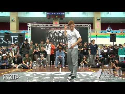 Popping Best16-8 Snow vs Dokyun | 20130303 OBS VOL.7 TAIWAN FINAL
