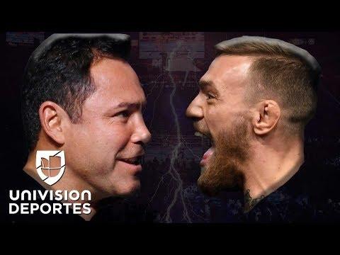 ¿Oscar De La Hoya vs Conor McGregor? El 'Golden Boy' regresaría a los cuadriláteros